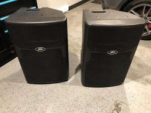 Peavy Pvxp Powered PA Speakers & Sub