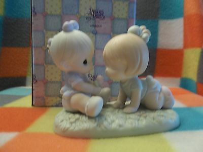 Precious Moments Figurine Good Friends Are Forever  #272422  1996