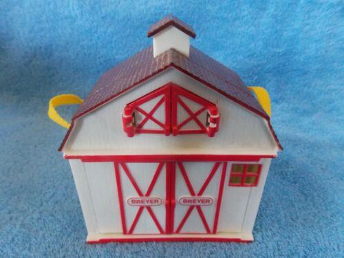 Breyer Pocket Barn White With Red Trim