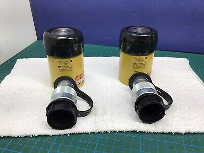 Enerpac Rc-101 Hydraulic Cylinder 10 Ton 1 Inch Stroke Usa Made