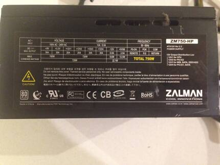 Zalman ZM750-HP PC power supply