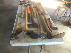 Axes,Adze,s,Hatchets and Maul.Vintage and Newer