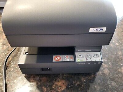 Epson Tm-j7100 Point Of Sale Inkjet Printer Dark Gray