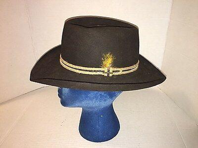 a25e3789e Stetson The Gun Club 3x Brown Beaver Western Hat S