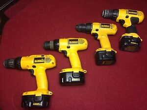 Drills/perceuses Dewalt
