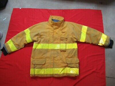 Mfg. 2002 Fire Gear 50 X 32 Firefighter Jacket Turnout Bunker Fire Coat