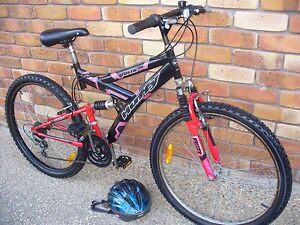 MEN'S DUAL SUSPENSION MTB WITH HELMET Coombabah Gold Coast North Preview