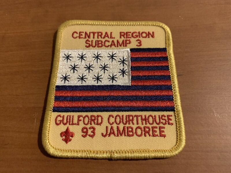 BSA, 1993 National Scout Jamboree Subcamp 3, Guilford Courthouse Patch