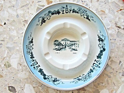 K.W.V. SOUTH AFRICAN WINE COUNTRY PLATE -  LOVELY SOUVENIR MADE IN SO.AFRICA