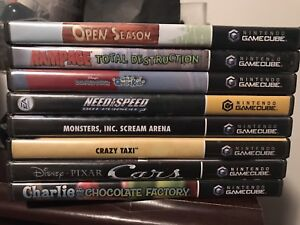 Various Game cube games