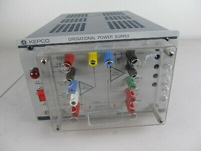 Kepco Ops 1000b Operational Power Supply 0-1000v 0-20ma