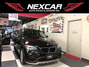 2015 BMW X1 DRIVE AUT0 AWD LEATHER PANO/ROOF BLUETOOTH 49K