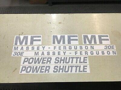 Massey Ferguson 30e Decals
