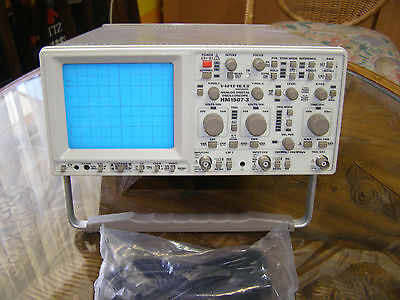 HAMEG HM 1507-3  Analog / Digital Oszilloskop 150 Mhz