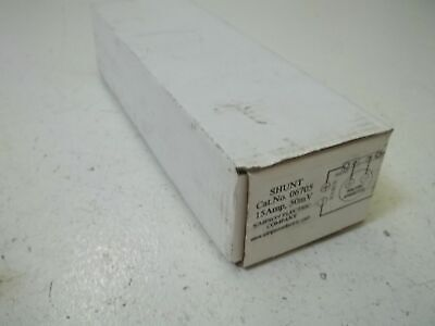 Simpson Electric Company 06705 Shunt 15amp 50mv New In Box
