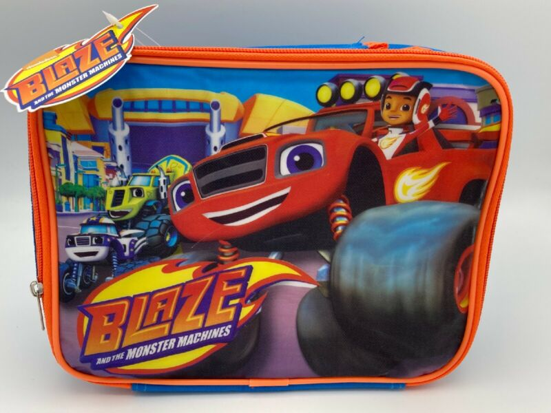 Nickelodeon BLAZE and the Monster Machines Soft Lunch Box (KAA271844698) - NEW!