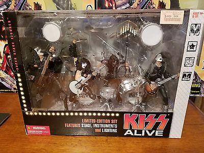 KISS Alive 2002 Super Stage Figures Limited Edition Set McFarlane Toys