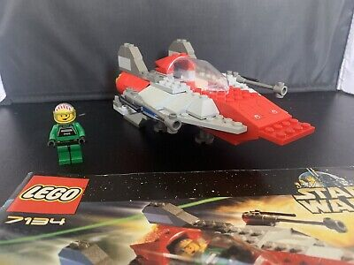 LEGO Star Wars: Episode IV-VI  A-Wing Fighter (7134) w/Instructions