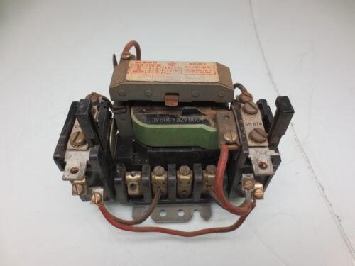 GENERAL ELECTRIC CR107B100FAA STARTER CONTACTOR SIZE 0