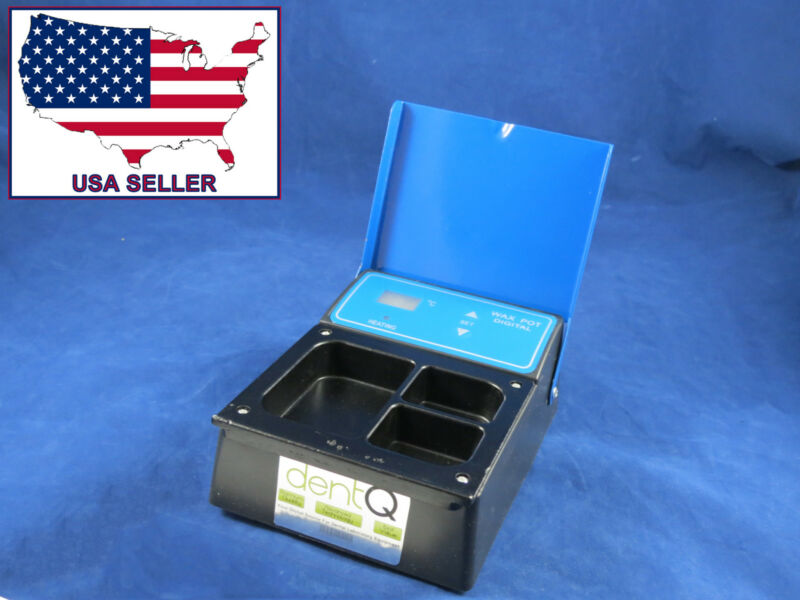 Dental Lab Wax Heater Pot 3 Compartment Digital 220V DentQ