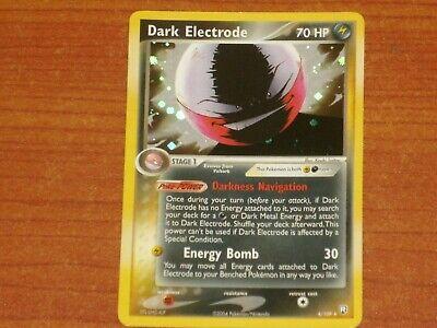 Pokemon Card: DARK ELECTRODE #4/109 HP70 EX-Team Rocket Returns Rare Holo 2004