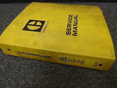 Caterpillar Cat 955k 955l Track Type Crawler Loader Shop Service Repair Manual