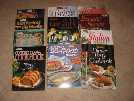 WOMENS WEEKLY COOKING BOOKS (12)