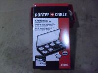 PORTER-CABLE 42000 9-Piece Template Guide Kit