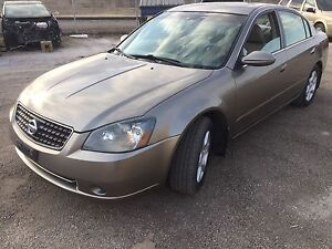 2006 Nissan Altima 2.5 SL fully loaded clean title remote start