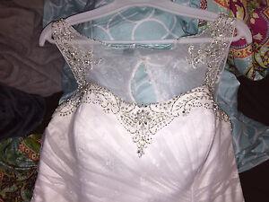 Beautiful Plus Size Wedding dress.