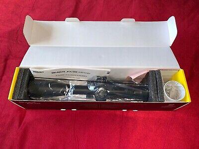 Nikon Black Fx1000 16516 6-24x50 FFP Illuminated FX-MRAD Reticle New in box.