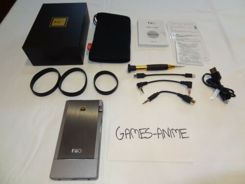 Fiio Q5 - Portable Headphone Amplifier + Dac  - In Box with Cables