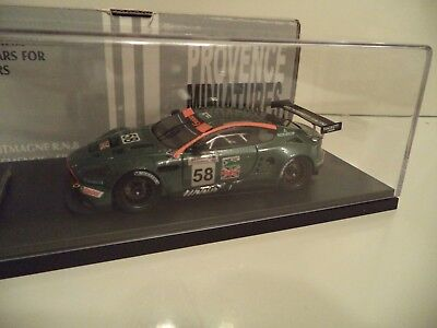 PROVENCE MOULAGE ASTON MARTIN DBR9 LEMANS 2005 #58    1/43RD SCALE    IN  BOX.