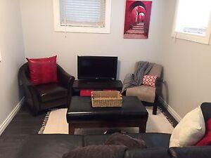 One bedroom basement suite