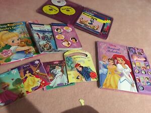 Disney princess books bundle