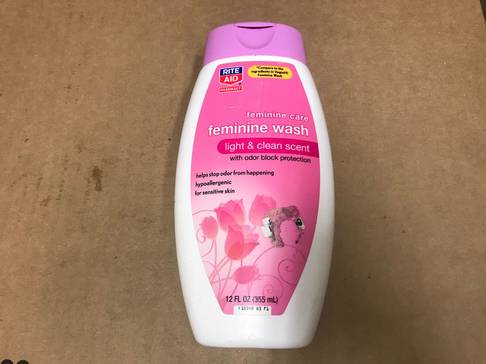Rite Aid Feminine Care Feminine Wash Light & Clean Scent 12
