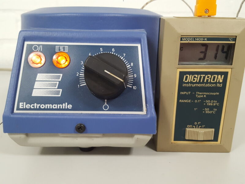 Electrothermal EM0250/CE 250mL Heating Mantle Lab 300C