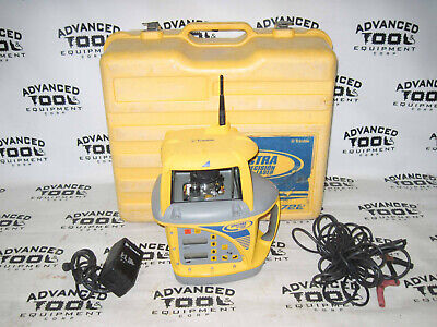 Trimble Dual Slope Rotary Laser Gl722 W Hl450 Receiver And Battery Charger