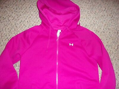 Womens Storm Front Jacket (Under Armour Cold Gear Womens S ZIp Front Jacket with Hood Pockets Storm)