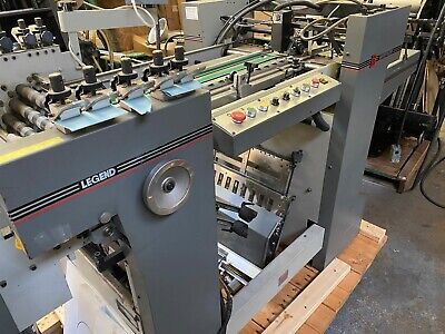 Baum 20x28 Legend Paper Folder With Right Angel Combo Rollers