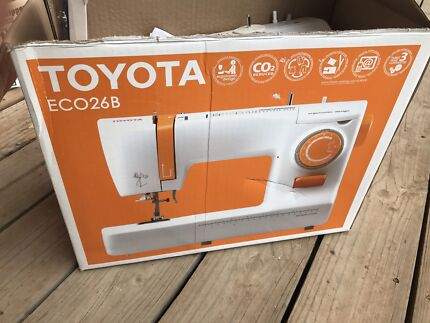 Toyota ECO26B sewing machine. No power cable.