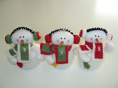 Snowman Ornament (Christmas Snowman Plush BUY 2 GET 1)