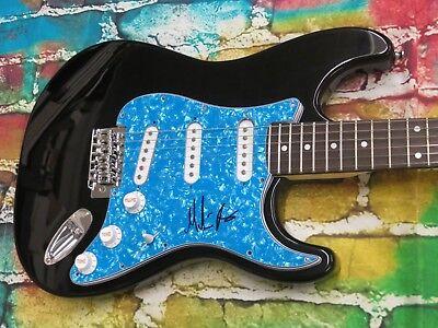 MARTIN BARRE ( JETHRO TULL ) Signed Electric Guitar LOM COA (G525)