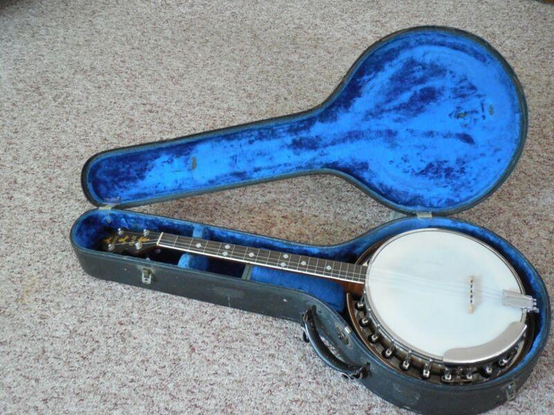 Slingerland Tenor Banjo May Bell Late 1930