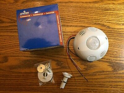 Leviton Osc20-m0w Ceiling Mount Occupancy Sensor Multi-technology White