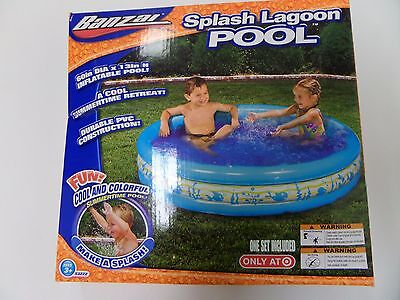 NEW Splash Lagoon Pool Summer inflatable kids
