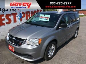2015 Dodge Grand Caravan SE/SXT STO & GO, ROOF RACK, HEATED M...