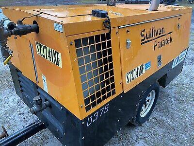 Sullvain D375 Towable Air Compressor