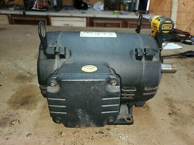 7.5 Hp 184t 3 Phase Weg Electric Motor Air Compressor 3515 Rpm 208-230