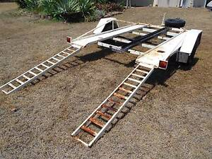 Single Axle Car Trailer to carry race car, buggy, trike, bikes Grantham Lockyer Valley Preview